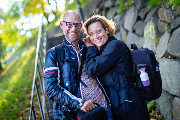 Heleen Klop en Wim Blom
