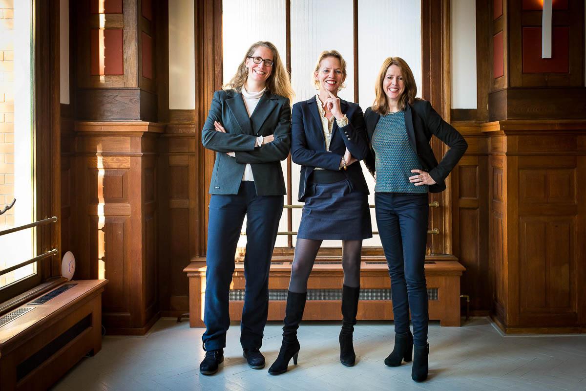 Zakelijke reportage bij De Rechtbank, Utrecht