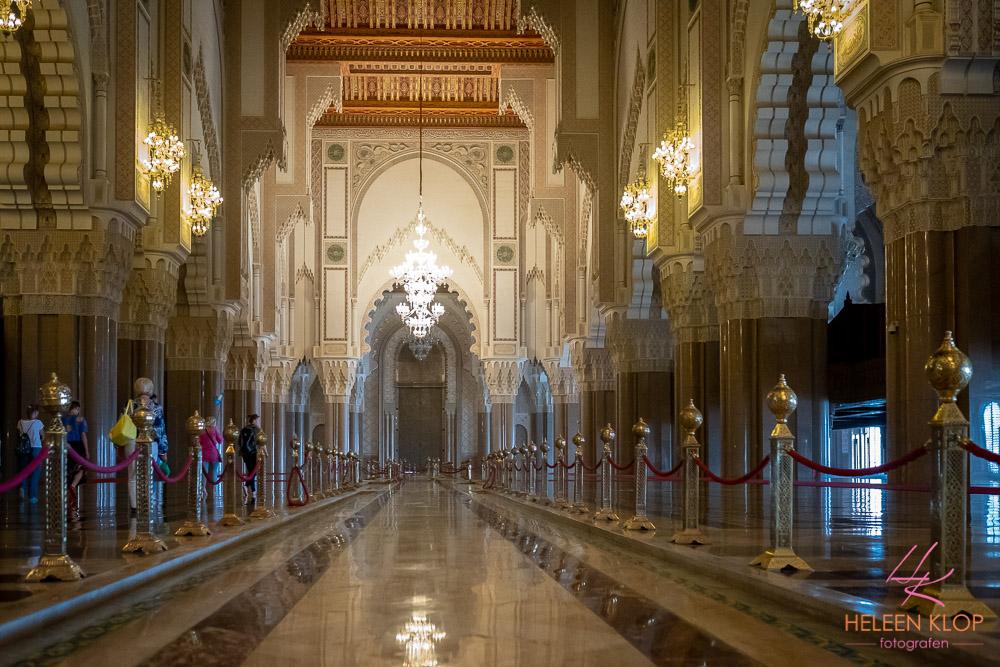 Pracht en praal Hassan II Moskee Casablanca