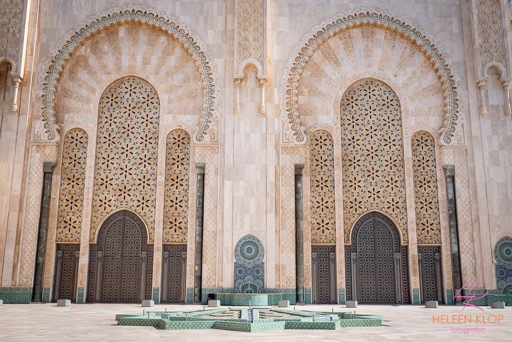 Buitengevel Hassan II Moskee Casablanca