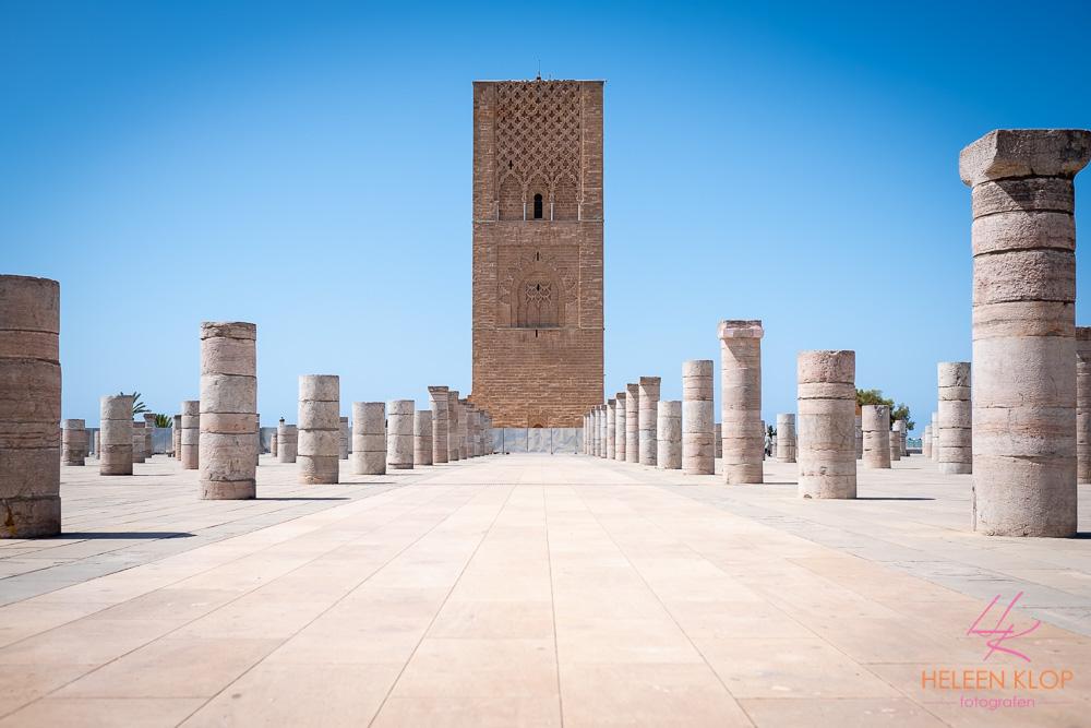 Moskee niet afgebouwd Rabat