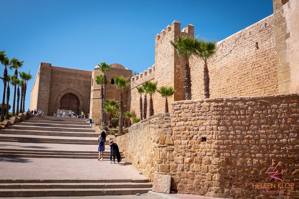 Stadsmuur Medina Rabat