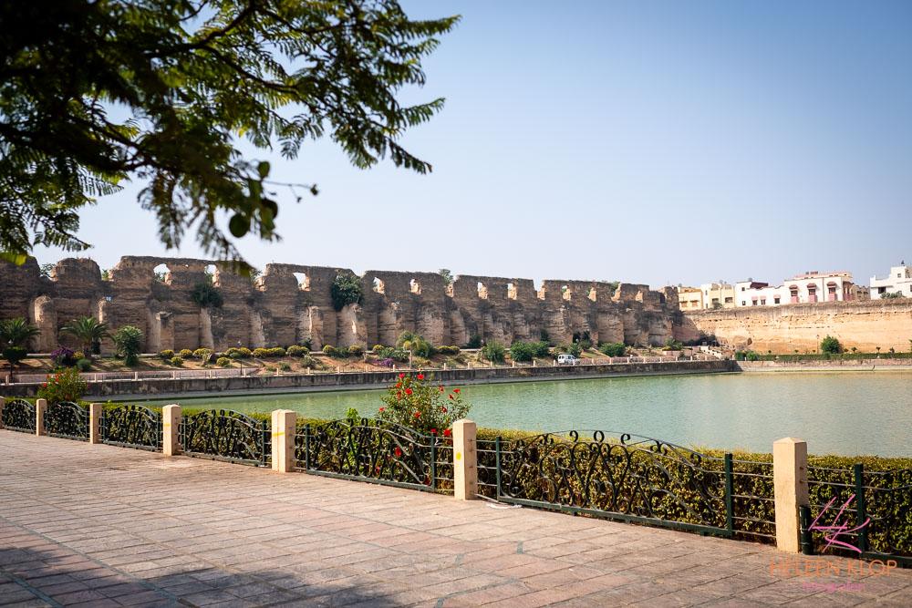 Kunstmatig meer bij Medina Meknes