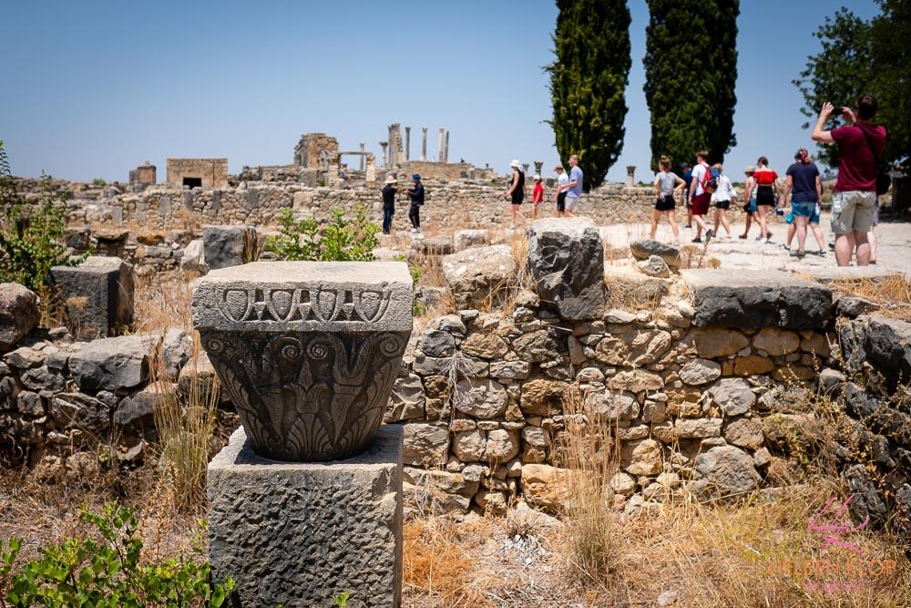 Volubilis oude Romeinse nederzetting