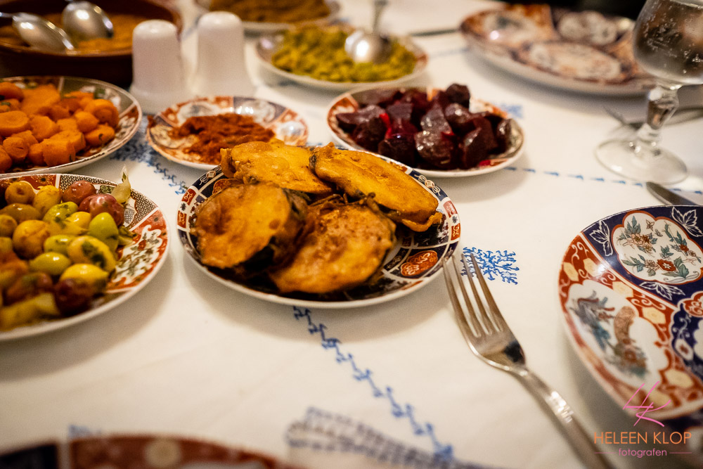 Huiskamer diner in medina Fes