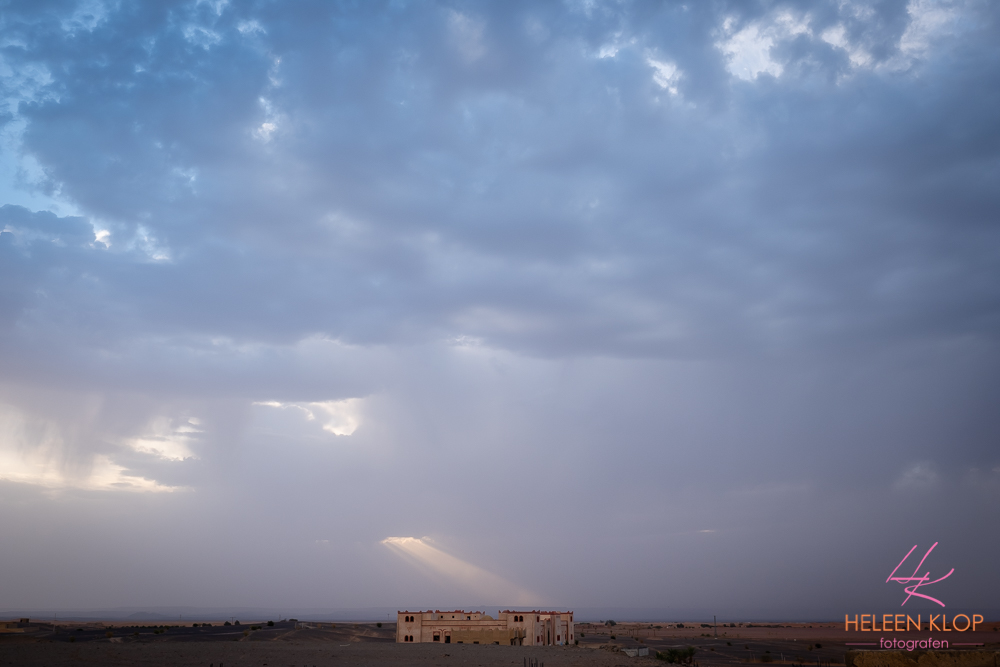 Zonsopkomst Erg Chebbi woestijn