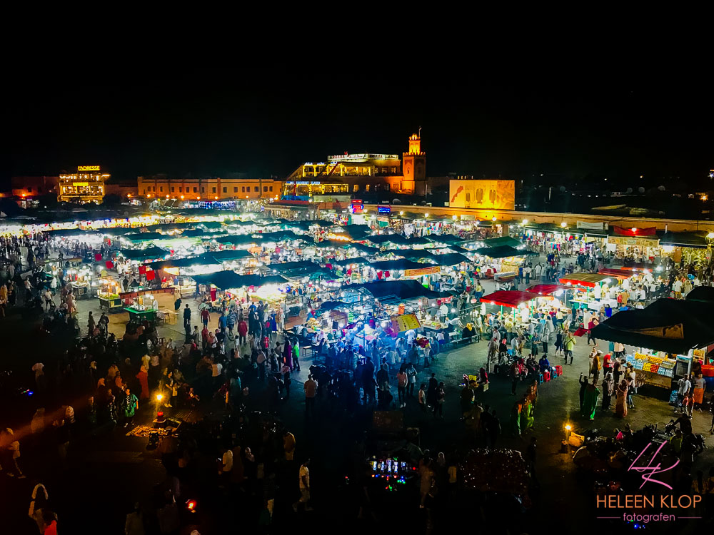 Marrakech by night