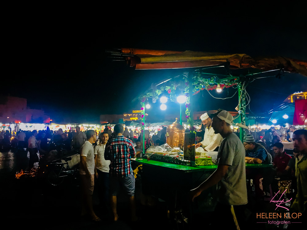 Foodtrucks van Marrakech