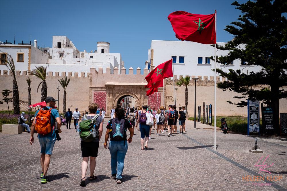 De kustplaats Essaouira