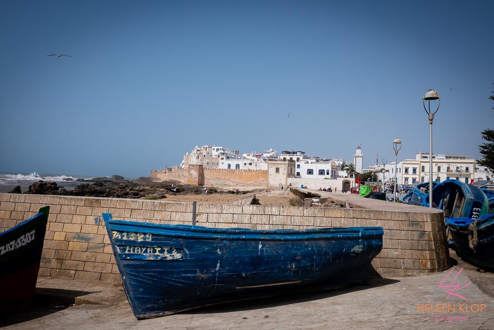 Uitzicht op Essaouira