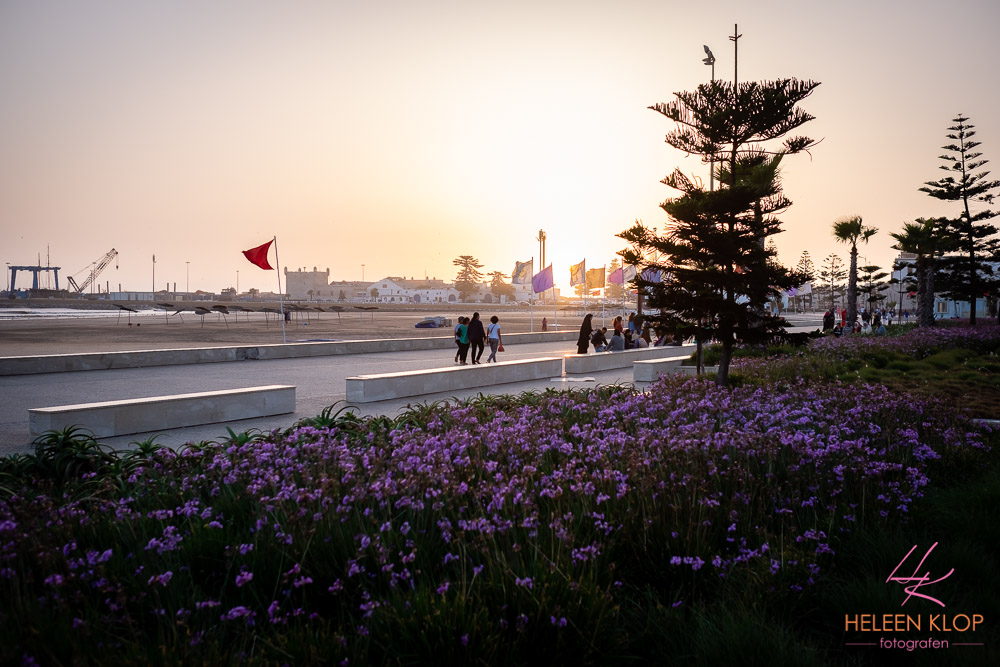 Zonsondergang bij Essaouira