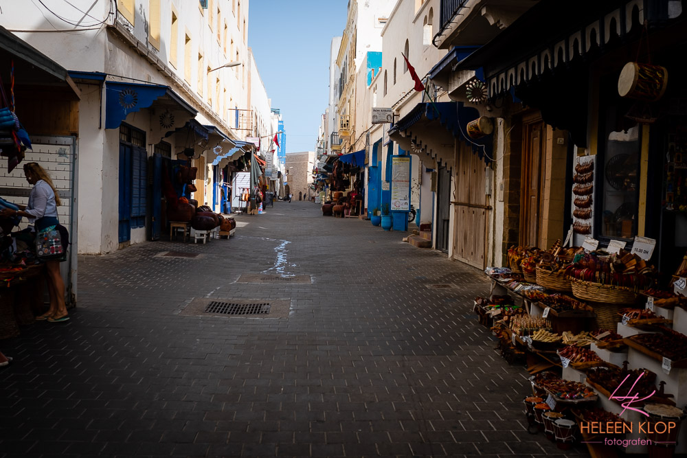 Lege medina van Essaouira