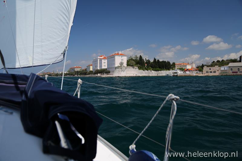 Kroatie Zeilen