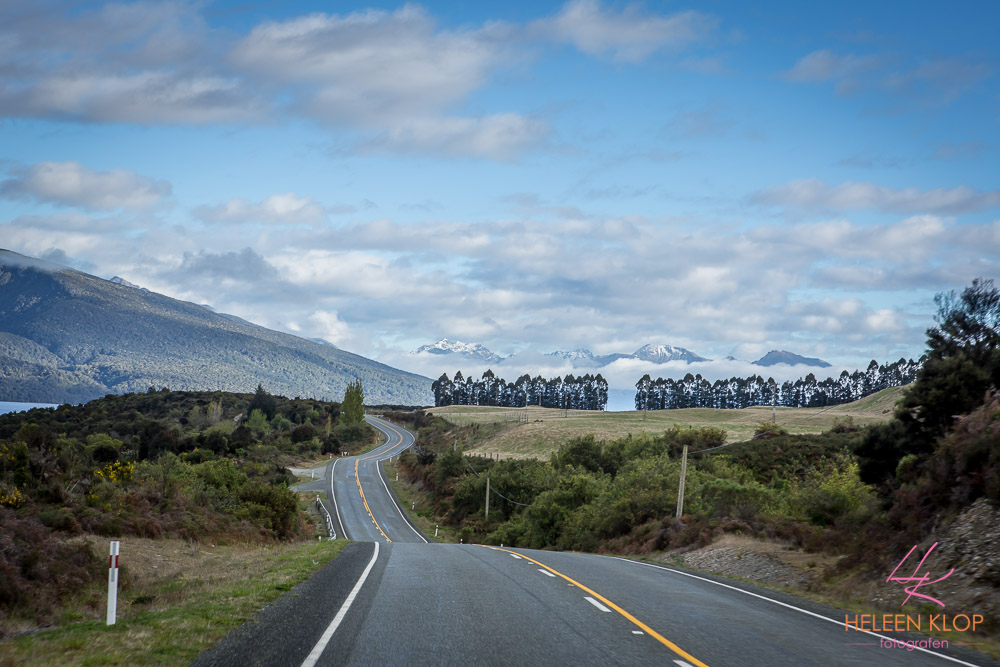 Onderweg naar Milford Sound