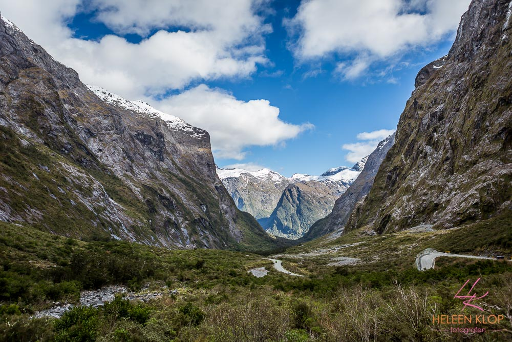 Homer Tunnel - toegang tot Milford Sound