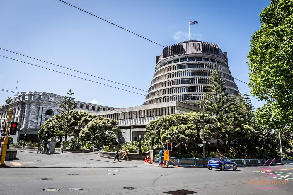 Beehive -Parliament Buildings Wellington