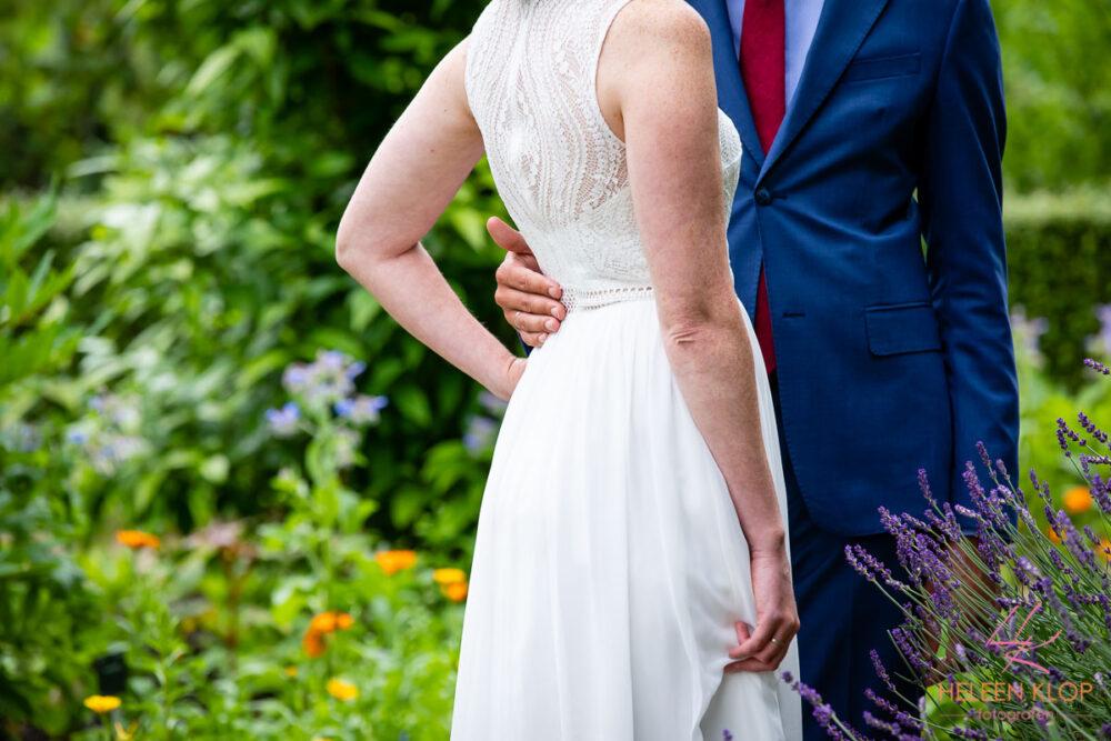 Bruidsreportage Bij Botanische Tuinen Utrecht